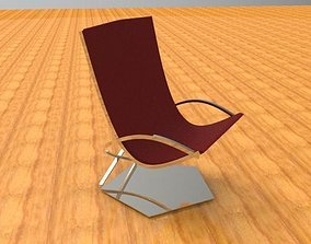 Chair and desk 3D model