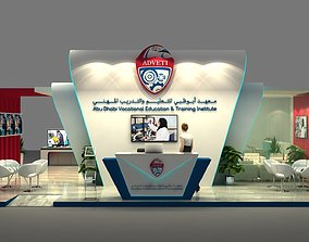Exhibition Stand 10 x 10m Concept Design 3D