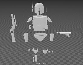 3D print model Star Wars Boba Fett Full Armor v2