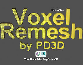 Voxel Remesh for 3dsMax