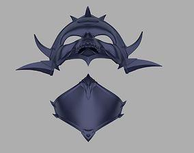 Princess Kitana Kahn mask from Mortal 3D print model 1