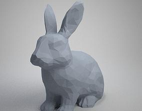 cute rabbit 3D print model