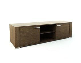 3D Modern Wooden Storage