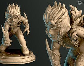 3D print model SIMPLE - Sabretooth