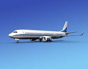 3D Boeing 737-900ER Corporate 5