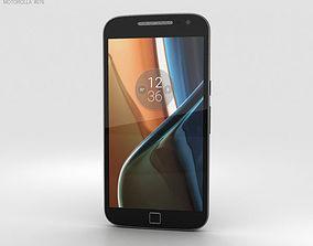 Motorola Moto G4 Plus Black 3D