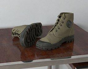 3D model shoes 75 am159