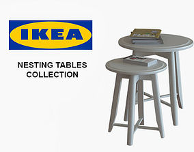 IKEA nesting tables COLLECTION 3D model