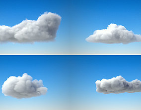 3D Volumetric clouds VDB