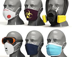 Respiratory Protection Kit 3D model