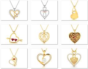 62 Love valentine ring 3dm render details