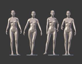 blend Female Mannequin 3D model