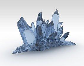 3D model Fantasy crystals