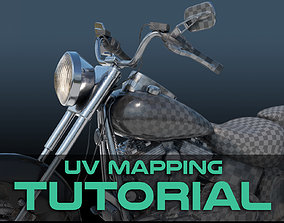 3D Maya UV Mapping Tutorial