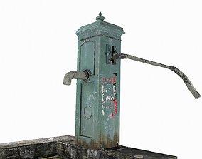 Victorian Hand Water Pump 3D model