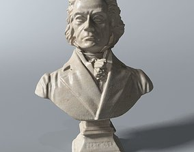 Beethoven Bust 3D