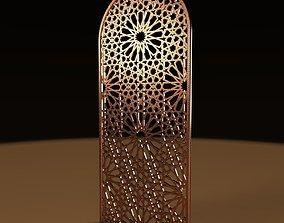 3D model Al hambra style gate
