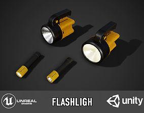 Flaslight 3D model
