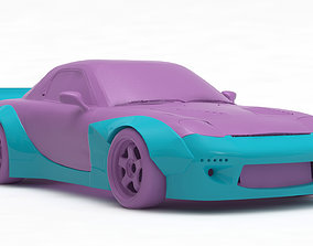 hobby Mazda RX7 Rocket Bunny Print Kit