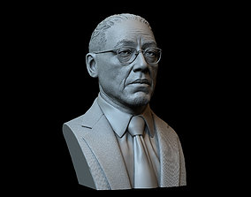 Gustavo Fring from Breaking Bad and 3D printable model 2