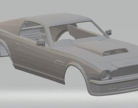 Aston Martin Vantage V8 Printable Body Car