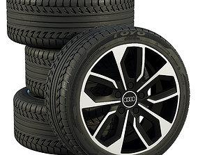 3D model Audi wheels suv