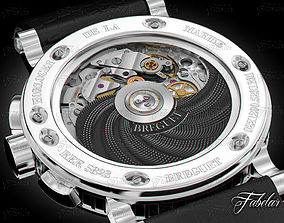 3D model Watch mechanism chronograph