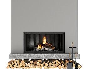 interior Fireplace 3D