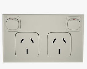 Electrical Outlet architectural 3D model
