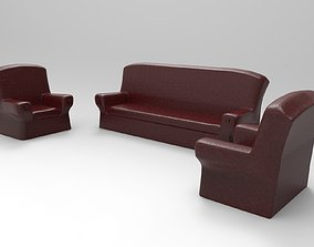 Sofa Set 3D print model
