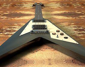 Kirk Hammett - Flying V 3D