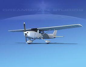Cessna 152 Commuter Bare Metal 3D