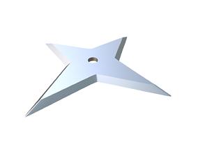 training Shuriken 3D print model