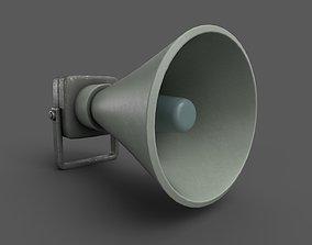 Vintage Alarm Siren 3D model