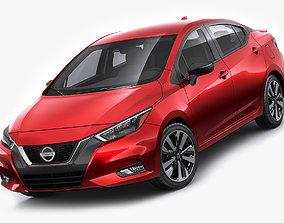 Nissan Versa 2020 japan 3D
