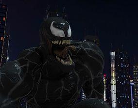 Venom 2018 Inspired Model rigged
