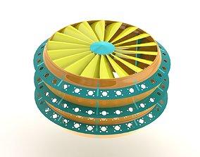 Spinning Light Filter 3D printable model