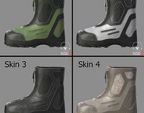 3D asset Tactical Boots VX500