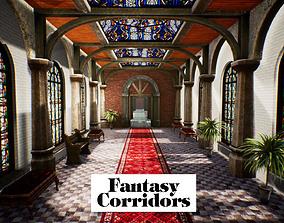 3D model Fantasy Corridors for Unreal