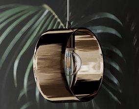3D model ARA GOLD RING PENDANT LAMP
