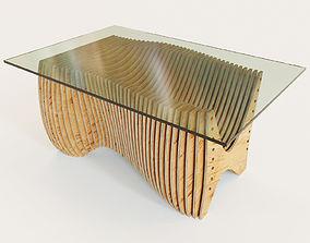 3D model Parametric kitchen table