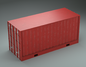 Container 3D PBR