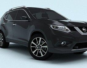 3D model Nissan X-Trail 2016