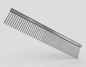 3D asset Steel Hair Comb