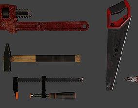 Work Tools 3D asset