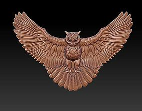 flying owl 3D model