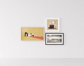 Picture Frames Archicollage 3D model