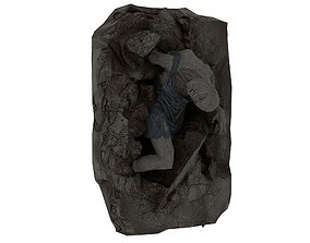 3D model Corpse 02