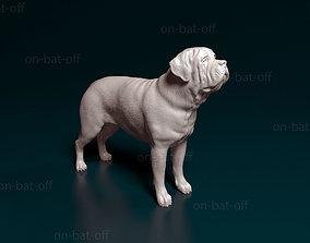 English Mastiff 3D printable model