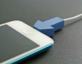 3D print model Lightning cable holder